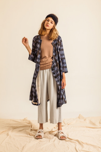 CHECK-RELAXED DRESS